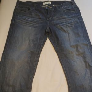 Maurices 13/14 long length  dark wash Jeans